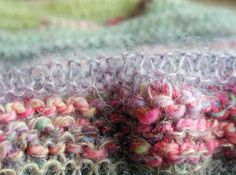 Flamboyant scarf - free knitting pattern - Pickles