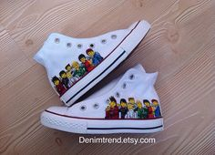 Ninjago Shoes Converse by denimtrend on Etsy, $65.00