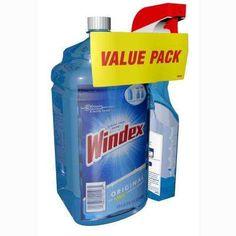 67.6 fl. oz. Original Glass Cleaner Refill with 23 fl. oz. Trigger Value Pack