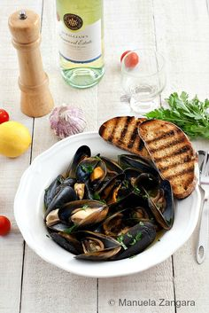 Impepata di Cozze - Peppered Mussels