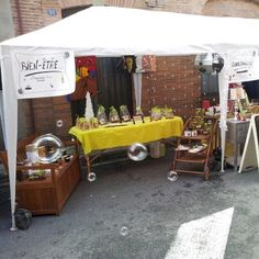 Notre stand au marché de l'avent à Baziège #noël #aceb