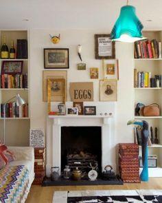 Living room fireplace design | Living-room-A.com