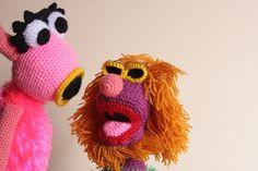 Crochet mahna mahna muppet