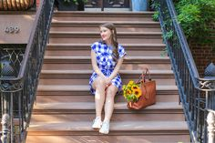 Rails Brooke Gingham Button Down Dress