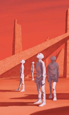 The Martian Chronicles illustrated by Frederik Peeters