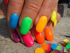neon nail colors