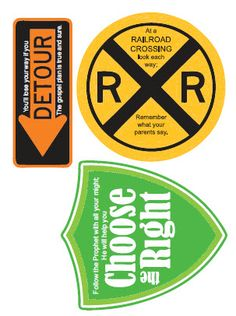 Road Sign Printables