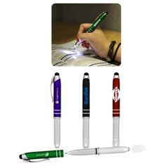 flashlight stylus pen