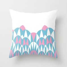 #arches #blue #pink #modern #abstract #projectm #graphic