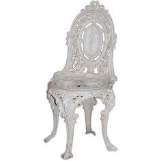 Victorian Cast Iron Garden Chair  $950