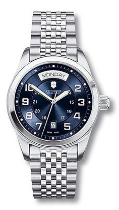 Ambassador 241072 - Large Blue Dial - Stainless Steel Bracelet - Self-Winding