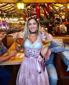 Ocktober fest dress on Mercari Octoberfest Girls, Oktoberfest Beer, German Beer Festival, Beer Maid, Beer Girl, Dirndl Dress, Classy Women, Sexy Women, Hot Outfits