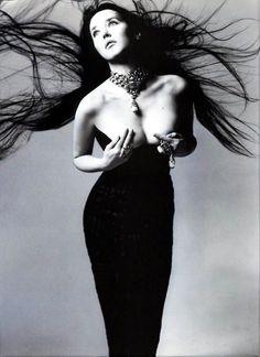 Isabelle Adjani by Richard Avedon  ~Repinned Via Wieslaw Krzysztoszek
