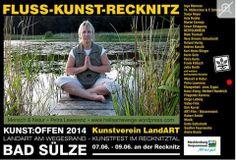 Kunst Offen 2014 | Kunst Offen – Fluss – Kunst -Recknitz – Petra Lewerenz