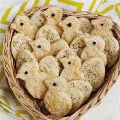 Parmesan and Black Pepper Easter biscuits – the perfect canapé. Click the photo or go to redonline.co.uk for the recipe.