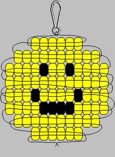 Perlentiere Smiley-Pony-Perlenmuster: Choosing The Right Chain Link Fence For Your Home Chain link f Pony Bead Projects, Pony Bead Crafts, Beaded Crafts, Beading Projects, Beading Tutorials, Beading Ideas, Video Tutorials, Pony Bead Animals, Beaded Animals
