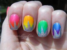 Rainbow Gradient & Holo Explosions