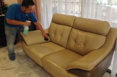 Our moisturizing treatment prevents #upholstery from cracks and gives them brand new look.