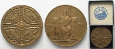 1930 Island ICELAND 2 Kronur 1930 1000 YEARS ALTHING PARLIAMENT bronze SCARCE!!! # 96415 UNC-