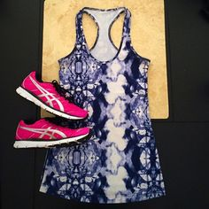 Lululemon Inkblot Blue Tie Dye Cool Racerback Tank Perfect for your every day workout! Breathable fabric, in new condition. Size tag was removed, its s size 6. All reasonable offers are welcome! Please make all offers through the offer button lululemon athletica Tops Tank Tops