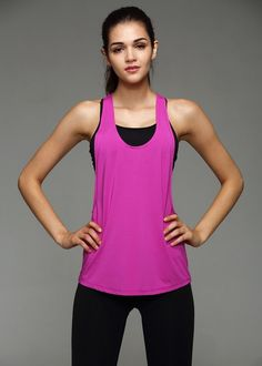 8 Colors Summer Sexy Women Tank Tops Quick Dry Loose Gym Fitness Sport Sleeveless Vest Singlet for Running Training T-shirt 1033