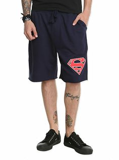 DC Comics Superman Men's Shorts | Hot Topic medium $19.50 (on sale for 14.63)