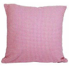 almofada pied poule rosa - Kasa 57