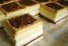 Hungarian Desserts, Hungarian Recipes, My Recipes, Sweet Recipes, Favorite Recipes, Recipies, Yummy Snacks, Yummy Food, Snacks For Work