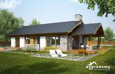 old english house Bungalow Haus Design, Barn House Design, Modern Bungalow House, Country House Design, Simple House Plans, Beautiful House Plans, House Roof, Facade House, Style At Home