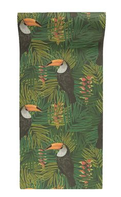 Our Graduate Collection Toucan Wallpaper designed by Alicia De Costa will add a great conversation piece to your home. The Toucan Wallpaper features these beautiful birds sat in wonderful vibrant tropical plants. Contemporary Wallpaper, Cole And Son, Perfect Wallpaper, Tropical Plants, Designer Wallpaper, Beautiful Birds, Home Accessories, How To Draw Hands, Vibrant