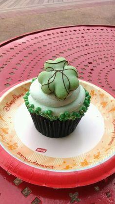 St. Patrick's Day Cupcake at Boardwalk Bakery!