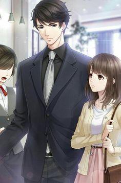 Cool Anime Guys, Handsome Anime Guys, Manga Couple, Anime Love Couple, Desenhos Love, Anime Cupples, Romantic Anime Couples, 8bit Art, Cute Anime Coupes