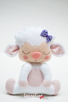 Sewing Stuffed Animals, Felt Cat, Farm Party, Felt Toys, Diy Wall Decor, Felt Animals, Sheep, Safari, Hello Kitty