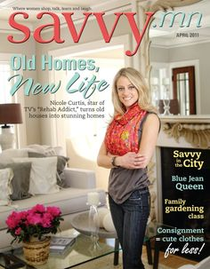 Nicole Curtis, star of TV's 'Rehab Addict,' restores old houses to their previous glory!