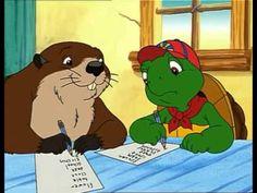 """Franklin la tortue en français """"L'examen de Franklin"""""""