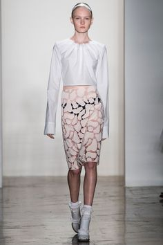 Louise Goldin Spring 2014 Ready-to-Wear Collection Slideshow on Style.com #nyfashionweek