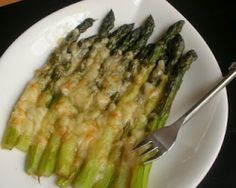 Slow-Roasted Asparagus=1 Weight Watcher Point
