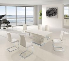 Modern Dining Room Furniture, Glass Dining tables, Bar Tables and stools in Toronto, Mississauga and Ottawa #diningtable