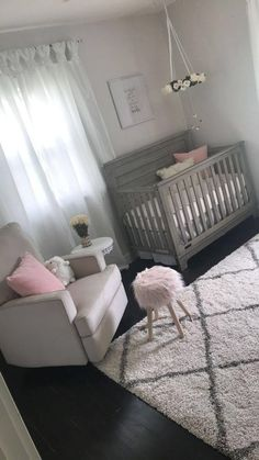 baby girl nursery room ideas 578994095824416612 - If you adore militant design, weve compiled a accrual of {} baby nursery ideas that are chilly sufficient for baby to adore and design-conscious adults to appreciate, too. Source by Baby Bedroom, Baby Room Decor, Nursery Room, Girls Bedroom, Baby Rooms, Room Baby, Child Room, Nursery Set Up, Baby Girl Nursery Bedding