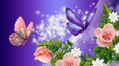 Peach Roses Purple Fantasy - Flowers Wallpaper ID 1050222 - Desktop Nexus Nature Wallpaper Nature Flowers, Rose Flower Wallpaper, Beautiful Flowers Wallpapers, Beautiful Rose Flowers, Beautiful Nature Wallpaper, Flower Backgrounds, Laptop Backgrounds, Hd Flowers, Flowers Nature