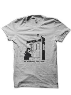 Knock Four Times Shirt by PaganChick on Etsy
