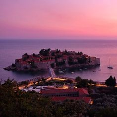 Ah Sveti Stefan. A gorgeous island off the coast of Montenegro once a favorite of Elizabeth Taylor and now a chic luxury resort. I tried to talk my way into the resort three years ago; they quite justifiably did not let me in. Oh well. I'll go someday for sure! Now it's time to gear up for the Sea Dance festival on Jaz Beach starting tomorrow! by adventurouskate