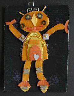May be an idea for third grade. Molly1721's art on Artsonia