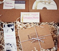 Personalized with Stamp, paper shreds, twine, copyright release ect.