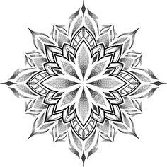 Geometric Tattoo Pattern, Geometric Mandala Tattoo, Mandala Flower Tattoos, Mandala Tattoo Design, Tattoo Designs, Knee Tattoo, Leg Tattoos, Arm Tattoo, Small Tattoos