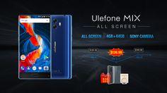Iniziata ufficialmente la prevendita del nuovo Ulefone MIX, al prezzo di 139,99 dollari, perciò 30 dollari in meno rispetto al suo prezzo originale che troveremo negli store a breve, disponibili solo 3000 pezzi.