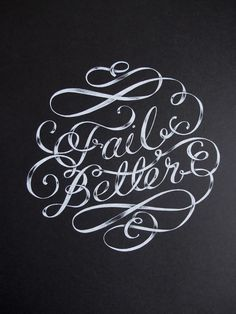 Fail Better mural by MaricorMaricar, via Behance