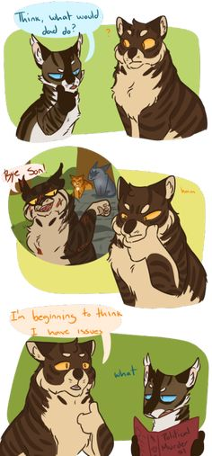 I got them issues Warrior Cats Funny, Warrior Cats Comics, Warrior Cat Memes, Warrior Cats Series, Warrior Cats Fan Art, Warrior Cats Books, Warrior Cat Drawings, Cat Comics, Warriors Memes