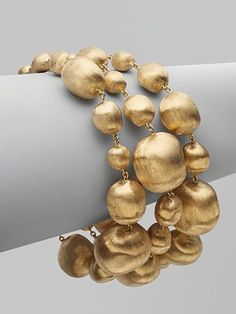 Marco Bicego 18kt gold bracelet on my REALLY HUGE - won't ask for anything for 3 years WISH list!!!!