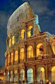 The Colosseum is situated just east of the Roman Forum. Construction began under the emperor Vespasian in 70 AD,